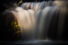 Cascade de Jackson Falls, New-Hampshire, USA