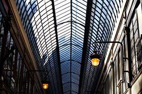 Verrière du Passage Jouffroy à Paris