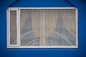 Fenêtre bleue à Bakkagerdi