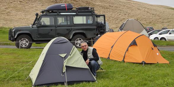Camping de Bjarg, Lac Myvatn