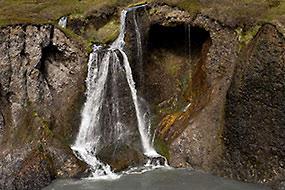 Casacde à Holmatungur, islande