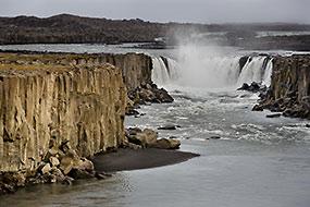 Cascade de Selfoss, rive Ouest, Islande