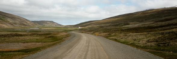 Route 745, péninsule de Skaga