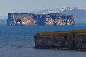 Ile tabulaire de Drangey, Islande