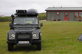 Camping d'Hvammstangi, avec une salle commune agréable