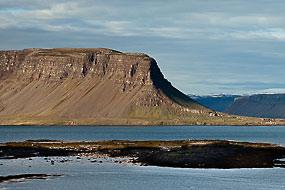 Sur la route 60, dans les Fjords de l'Ouest, islande