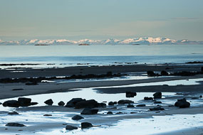 Vue sur la Péninsule de Snaefellsness, Islande