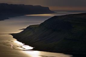 Réflexion sur les Fjords de l'Ouest, Islande