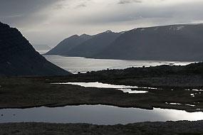 Paysage le long de la route 60, Fjords de l'Ouest, Islande