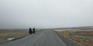 Vélos sur la route 61, Islande