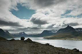 Sur la route 61 dans les Fjords de l'Ouest, Islande