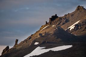 Montagne sur la route 54, Péninsule de Snæfellsnes, Islande