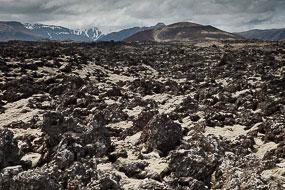 Champs de lave, Péninsule de Snæfellsnes, Islande