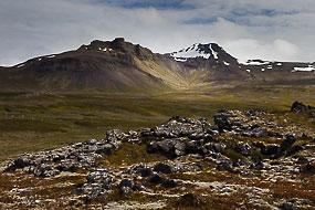 Paysage, Péninsule de Snæfellsnes, Islande