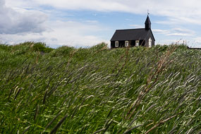 Eglise de Budir, Péninsule de Snæfellsnes, Islande