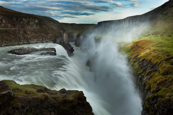 Cascade de Gullfoss, Cercle d'or, Islande