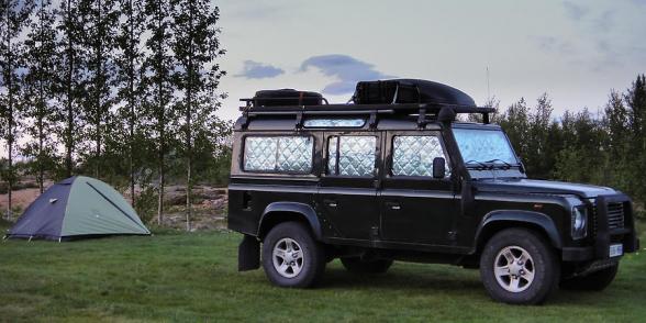 Camping de Geysir, Cercle d'or, Islande
