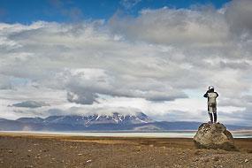 Le cosmonaute Charly ! Islande