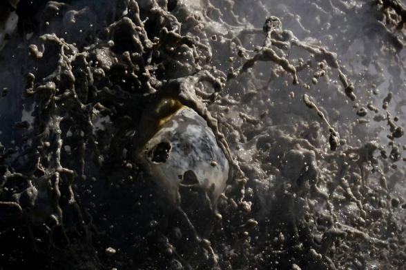Marmite d'eau bouillonnante, Hveravellir, Islande