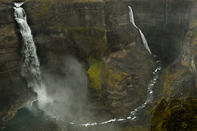 Cascade d'Haïfoss et de Granni, Islande