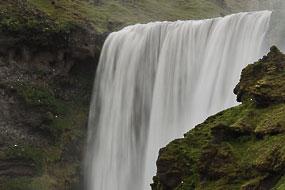 Cascade de Skogarfoss, Islande