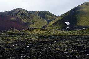 Paysages le long de la F225, Islande