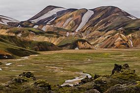 Massif ryolithique du Landmannalaugar, Islande