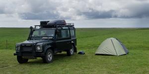 Camping Svinafell près du Parc de Skaftafell, Islande