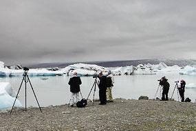 Workshop photographique à Jokulsarlon, Islande