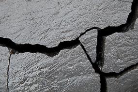 Roche fracturée par le gel (cryoclastie), Islande