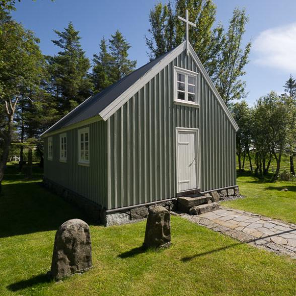 Eglise de Stafafell, Fjords de l'Est, Islande