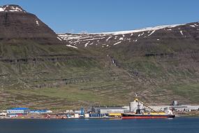 Usine Alcoa d'aluminium, Fjords de l'Est, Islande