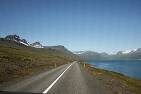 Route 96, Fjords de l'Est, Islande