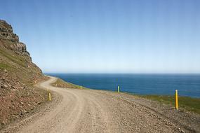 Route 955, Fjords de l'Est, Islande