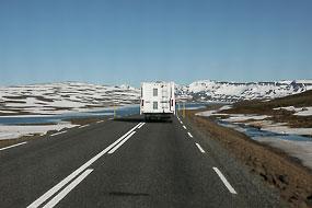 Sur la 93, vers Seydisfjordur, islande