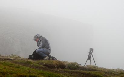 En attendant que la cascade de Litlanesfoss soit visible...