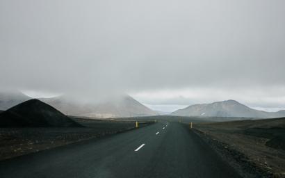 Sur la route 1 en direction du Nord, vers Dettifoss et Selfoss