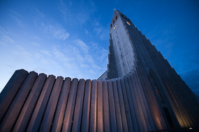 L'église luthérienne de Reykjavik