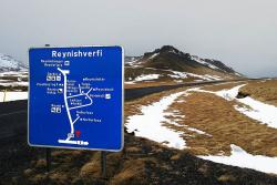 Route 215 vers Reynisfjara, Islande 2013