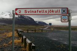 Panneau Svinafellsjokull