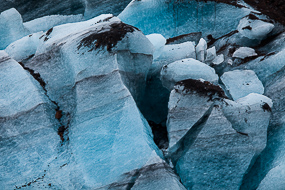 Langue glacière du Svinafellsjokull, Islande