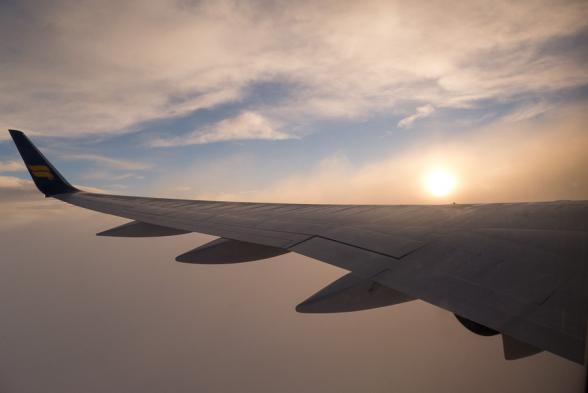 Vol du retour au petit matin sur Iceland-Air