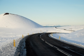 La route 56, une transversale dans la Péninsule de Snæfellsnes, Islande