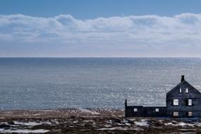 Ferme abandonnée dans la péninsule de Snæfellsnes