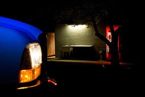Le pick-up et le distributeur, Utah, USA, 2007