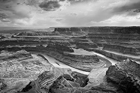 Boucle de la rivière Colorado à Dead Horse Point, Utah, USA, 2007