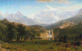 Albert Bierstadt - The Rocky Mountains, Lander's Peak