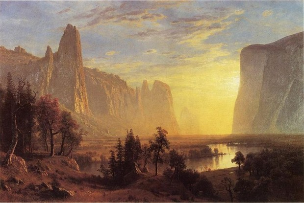 Yosemite Valley, 1868 - Albert Bierstadt