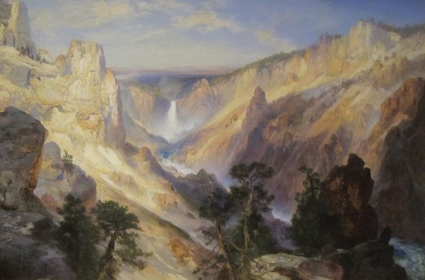 Grand Canyon of the Yellowstone, 1906 - Thomas Moran