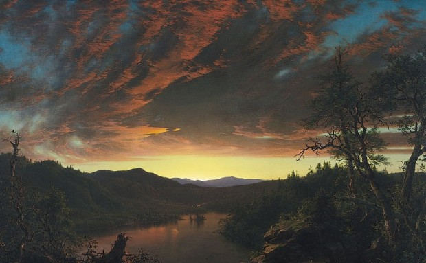 Twilight in the Wilderness, 1860 - Frederic Edwin Church